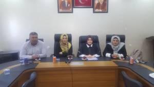 AK Parti Harran ve Akçakale Kadın Kolları Mülakatları Yapıldı