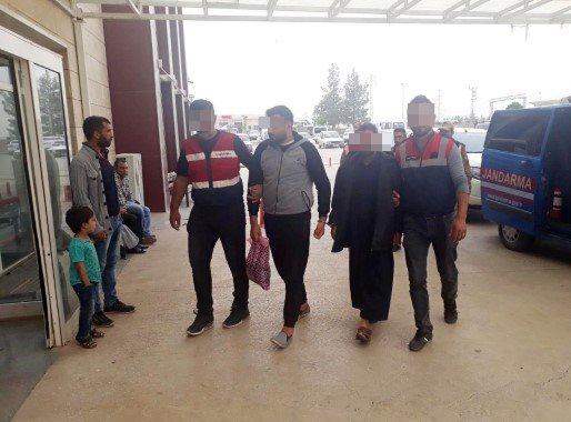 Akçakale'de 3 DEAŞ'lı yakalandı