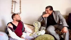Atilla'dan Afrin ÖSO Gazisine Ziyaret-Videolu Haber