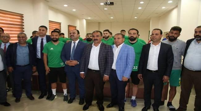 Başkan Çiftçi'den Şanlıurfaspor'a Ziyaret