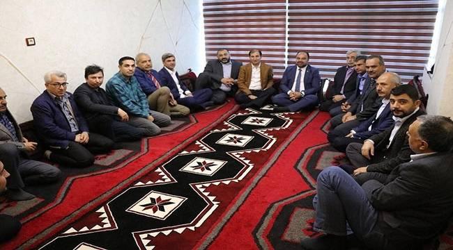 Başkan Çiftçi'den Türkmenler Derneğine Ziyaret