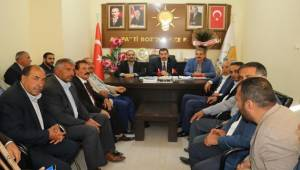 Baydilli'den AK Parti Bozova'ya Ziyaret