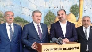 BBP Başkanı Destici'den Şanlıurfa Belediyesine Ziyaret