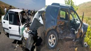Bozova'da Feci Kaza 2 Ölü, 7 Yaralı