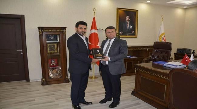 BTP Şanlıurfa İl Başkanından Çimşit'e Ziyaret