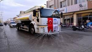 Ceylanpınar Belediyesi İkinci Sulama Aracı