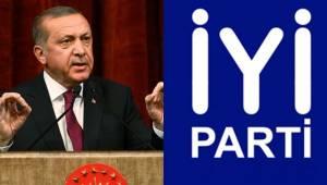 Cumhurbaşkanı Erdoğan'dan İYİ Parti Açıklaması