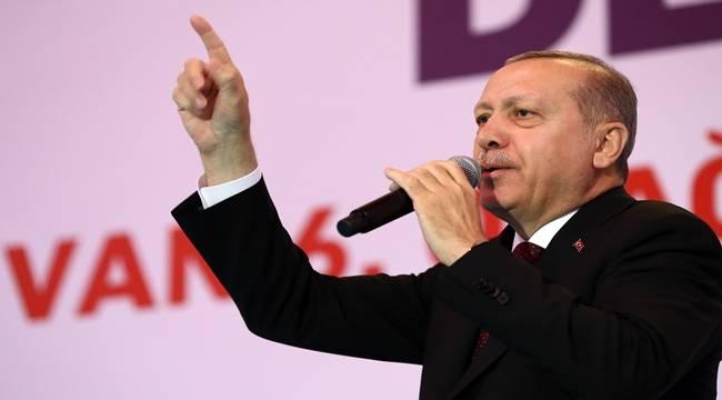 Cumhurbaşkanı Erdoğan, Sınırda Tatlıses Çoştu