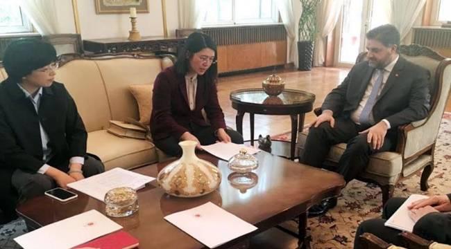 Dünyanın Ünlü Şirketlerinden Büyükelçi Önen'e Ziyaret