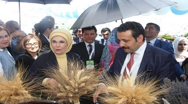 Emine Erdoğan Şanlıurfa'ya Geldi