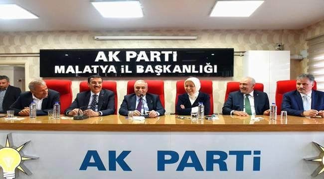 Fakıbaba, AK Parti Malatya İl Başkanlığını Ziyaret Etti