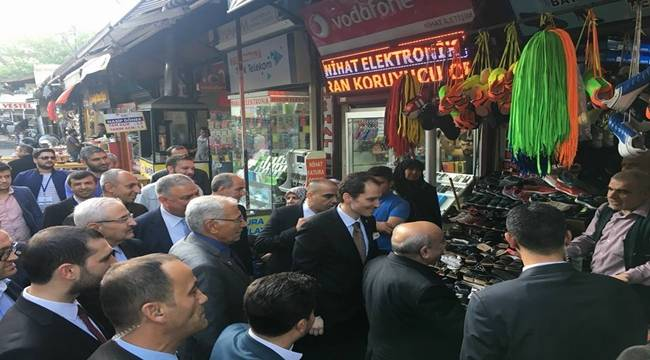 Fatih Erbakan, Şanlıurfa Valiliğini ve Esnafı Ziyaret Etti