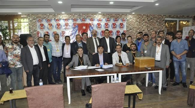 Güneydoğu Gazeteciler Cemiyeti Kongresi Gerçekleşti