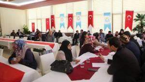 Haliliye'de Nisan Ayı Halk Toplantısı Yapıldı