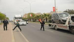 İpekyol'da kaza, 1 yaralı