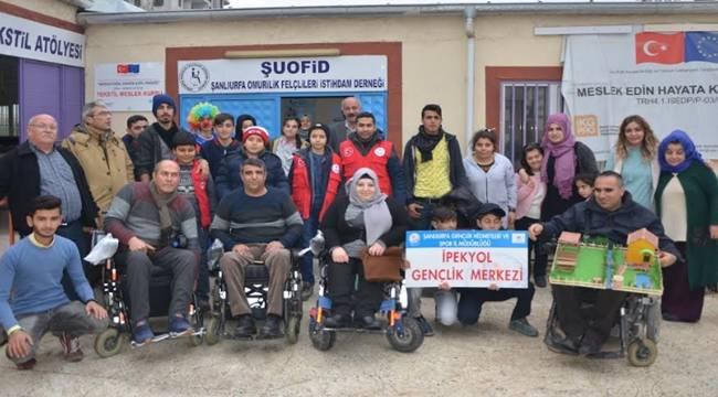 İpekyol Gençlik Merkezi Gençleri ŞUOFİD'de