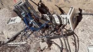 Kaçak elektriği önleyen 55 pano tahrip edildi