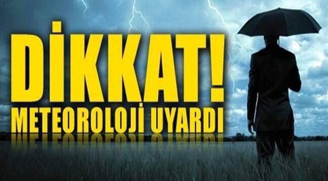 Meteoroloji Şanlıurfa'yı Uyardı