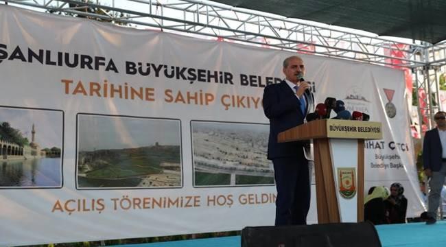 Şanlıurfa'da 4 Büyük Projenin Açılışı Yapıldı