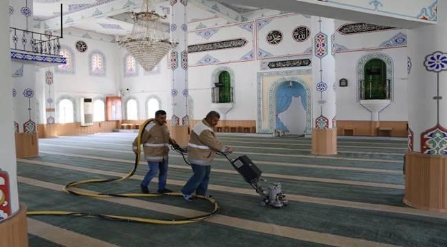 Şanlıurfa'da Camiler Ramazan Ayına Hazırlanıyor