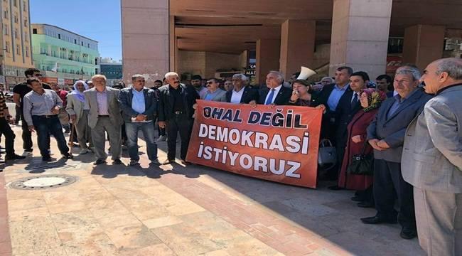 Şanlıurfa'da CHP'nin Eylemine HDP'den Destek