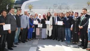 Şehrim 2023 projesi Şanlıurfa programını tamamladı