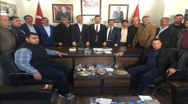 Siverek Belediye Başkanından MHP'ye Ziyaret