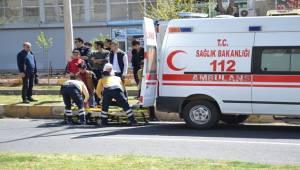Siverek Ölüm Yolunda Kaza, 1 Yaralı