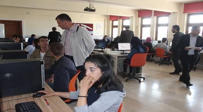 Siverek'te Öğrenciler PISA Sınavına Girdi