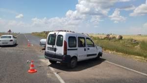 Siverek ve Bozova'da Kaza 8 Yaralı