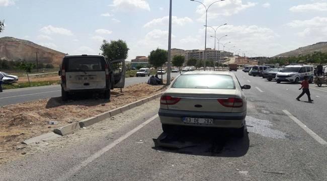 Suruç Akçakale Çevre Yolunda Kaza, 5 Yaralı