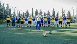 TİGEM'de Futbol Turnuvası