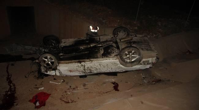 Urfada Feci Kaza, 1 Ölü 4 Yaralı