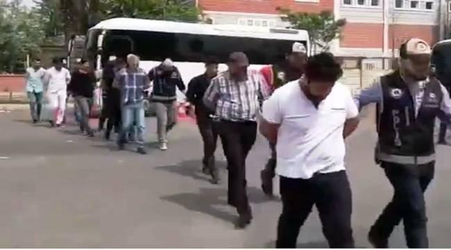 Urfa'da Tefecilere Operasyon, 12 Kişi Tutuklandı