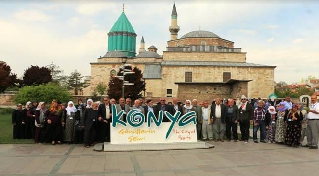 Urfa'nın Yeşeren Çınarları Konya'yı Gezdi