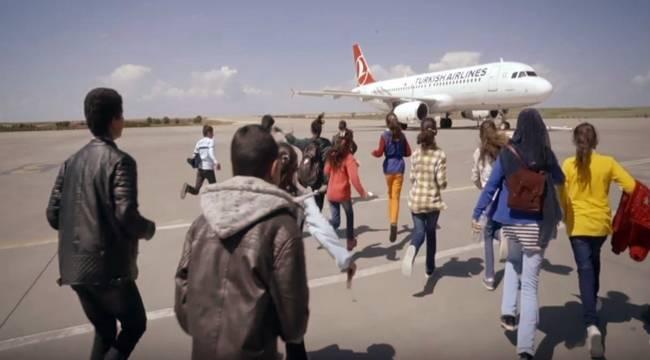 Urfalı Öğrencilerin Uçağa Binme Hayalini Gerçekleşti