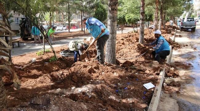 Veysel Karani Mahallesindeki Parklar Yenileniyor