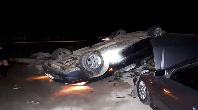 Viranşehir'de Kaza, 1'i Asker 4 Yaralı