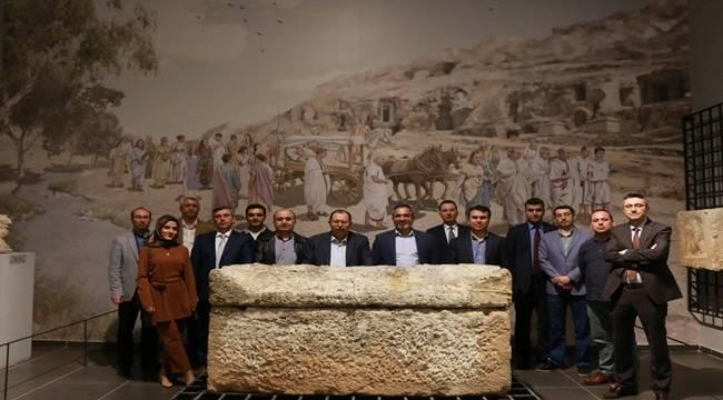 Yargı Mensupları Tarihi Mekanları Gezdi