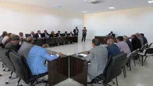Yeni Belediye Binasında İlk Toplantı Gerçekleşti-Videolu Haber