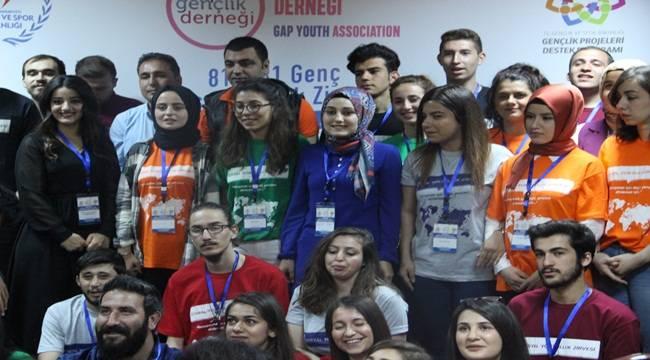 81 İlden 81 Genç Şanlıurfa'da Bir Araya Geldi