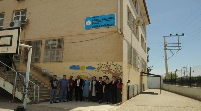 Açık Kapı Biriminden Uğurlu İlk ve Orta Okuluna Destek