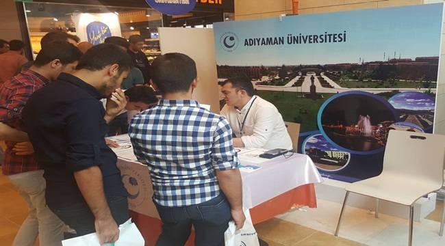 Adıyaman Üniversitesi,Şanlıurfa Kariyer Günlerine Katıldı