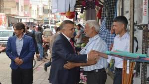 Ahmet Akay Akçakale Esnafınız Ziyaret Etti