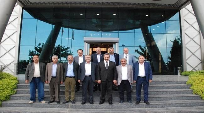 Ahmet Ersin Bucak Ziyaretlerini Sürdürüyor