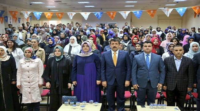 AK Parti Eyyübiye Kadın Kolları Başkanı Gülten Balcı Oldu