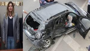 AK Parti Şanlıurfa Aday Adayı Feci Kaza Geçirdi