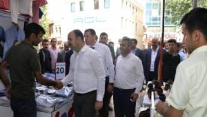 AK Parti Şanlıurfa Adayları Sahaya İndi