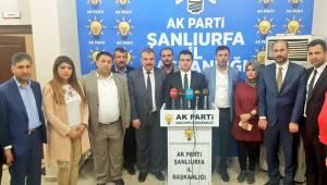 AK Parti Şanlıurfa'da Aday Adayı Sayısı Açıklandı