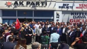 AK Parti Şanlıurfa'dan ABD ve İsrail'e Tepki